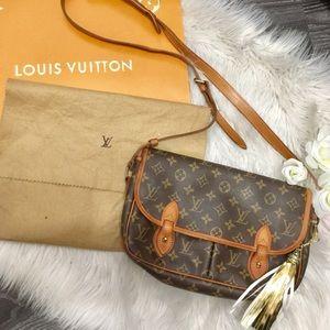 Louis Vuitton Gibeciere mm crossbody bag